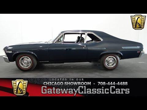 1968 Chevrolet Nova SS 396 Gateway Classic Cars Chicago #925