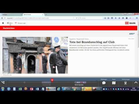Free Wifi in ICE Deutsche Bahn Kostenloses Gästeportal