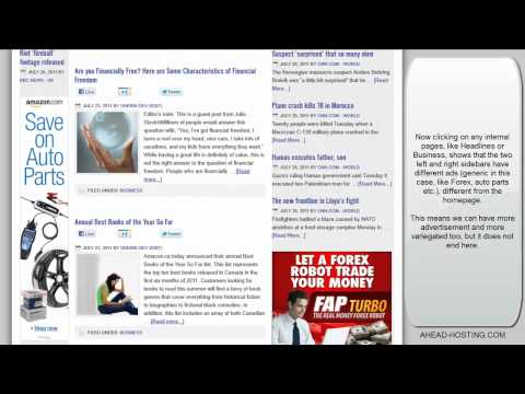 News Aggregator website for affiliate marketing - Outstanding features and design!