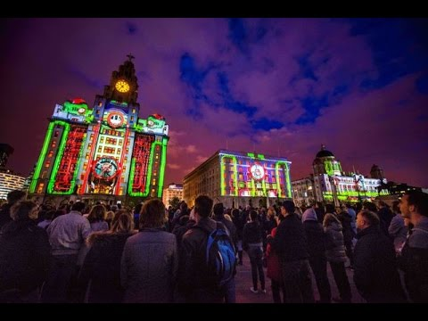 Amazing Graces Official Version - Liverpool Video Mapping Show