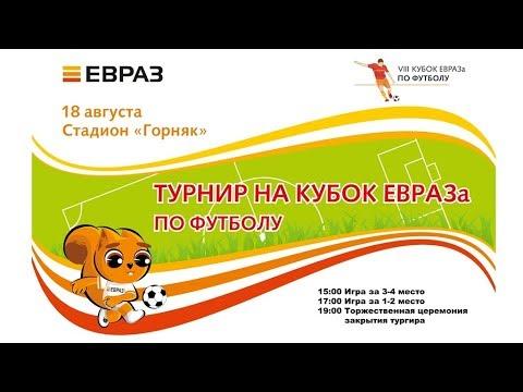 Финал VIII Турнира на кубок ЕВРАЗа по футболу.