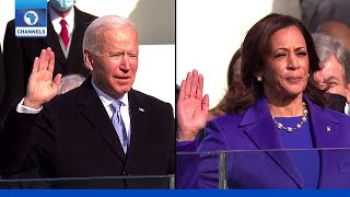 Joe Biden, Kamala Harris Sworn In As President, Vice Prresident