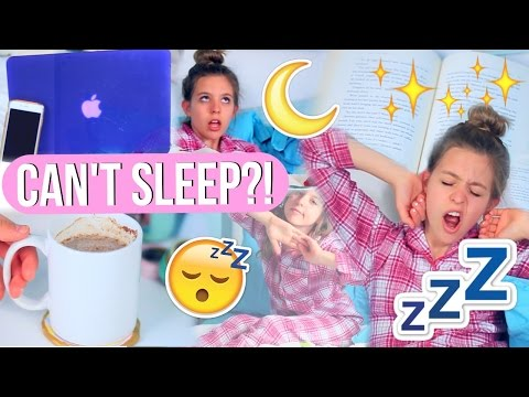 How to Fall Asleep Fast! | 10 Life Hacks for When You CAN'T Sleep!!