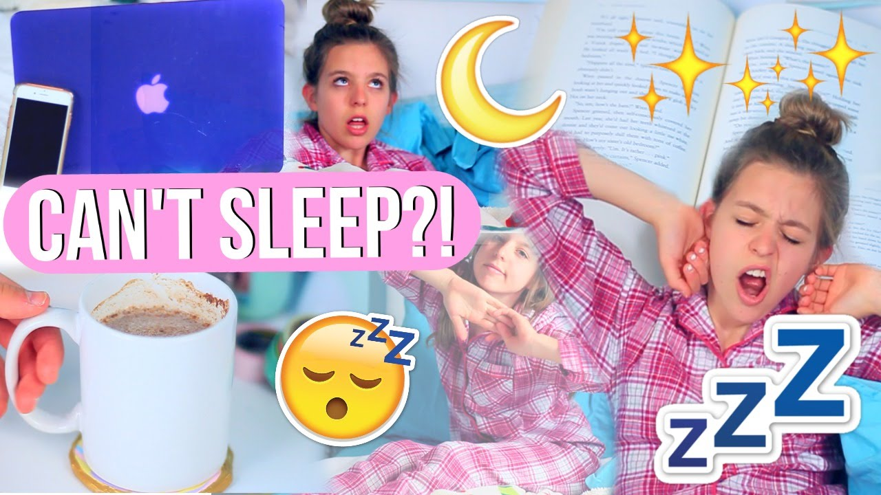 How To Fall Asleep Fast!  10 Life Hacks For When You Can't Sleep!!   Youtube