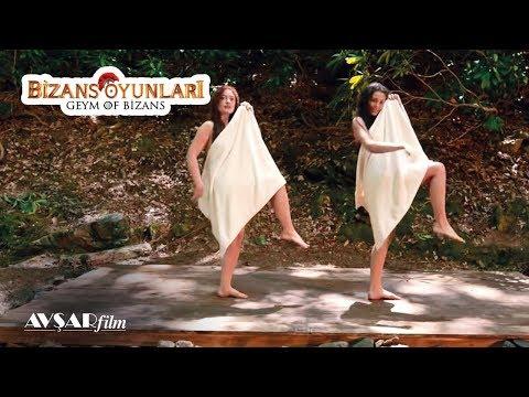 Maya Kadınlarının Havlu Dansı - Bizans Oyunları