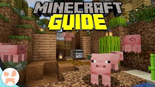 SEMI-AUTO PIG FARM | Minecraft Guide Episode 69 (Minecraft 1.15.2 Lets Play)