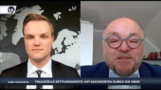 """Rolf Pieper (EFM): """"Märkte aufgepumpt, Euro tot, Verschuldungsorgie - jetzt Sachwerte als Plan B"""""""