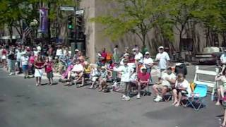 Riding in the 4th of July parade
