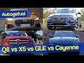 Best Premium SUV? Audi Q8 vs BMW X5 vs Porsche Cayenne vs Mercedes GLE