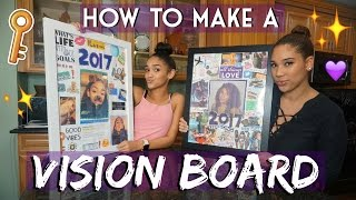 HOW TO MAKE A VISION BOARD + UPGRADE YOUR LIFE