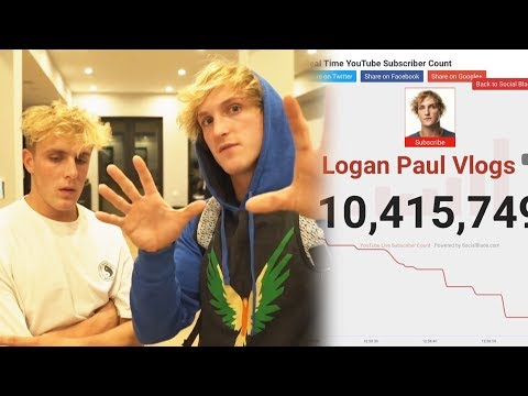 Jake Paul & Logan Paul LOSING Subscribers #FallOfThePauls? Clarissa May REVEALS the Name?