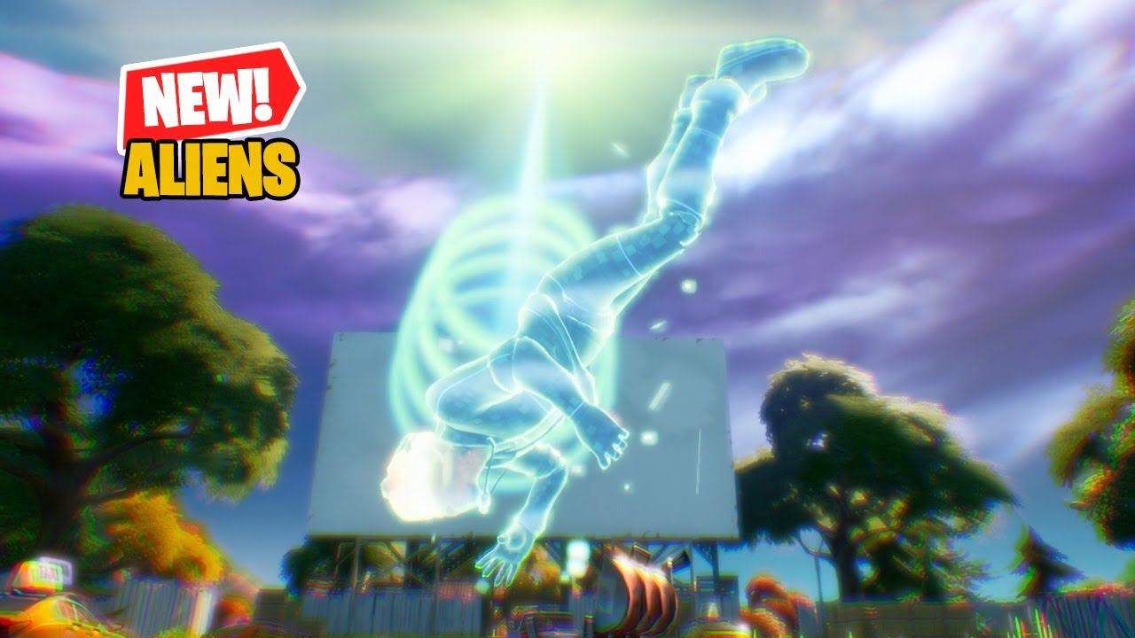 Fortnite Aliens & UFO Mini Event (How to Get Beamed Up)