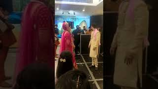 Couple Dance Performance - Jatin Weds Jyoti - Likhya Sanjog Rabb ne Aaj tera mera Vyaah hoya