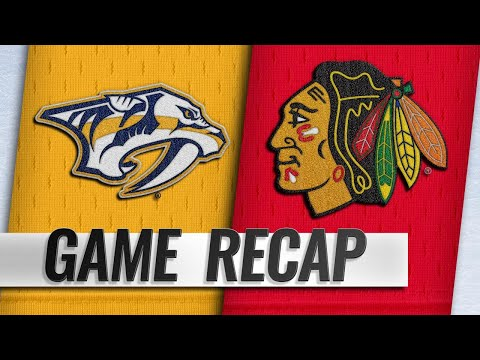 Forsberg leads Predators with two goals, OT winner