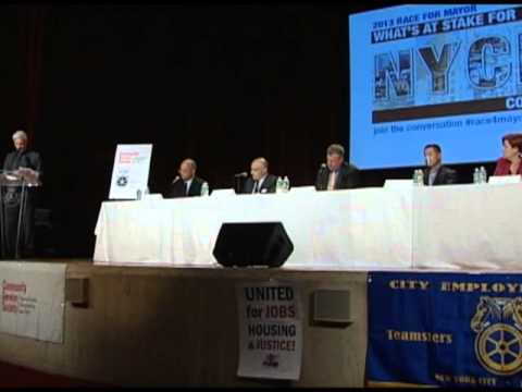 2013 Race For Mayor - What's At Stake For NYCHA Communities?