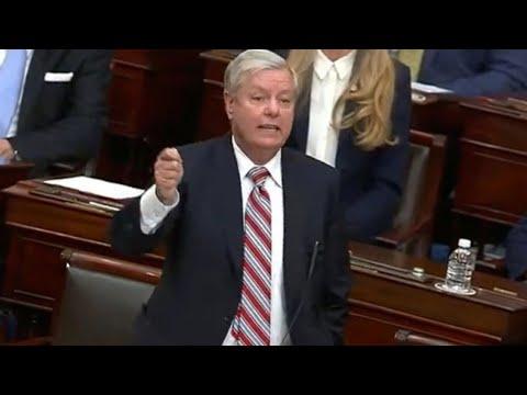 LIVE: US Senator Lindsey Graham holds press conference to ad