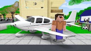 NOOB'A YENİ UÇAK ALDIK! ✈️ - Minecraft