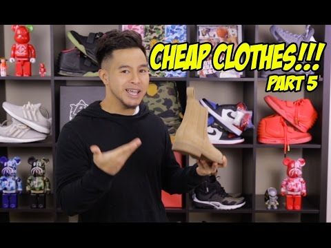 CHEAP ALTERNATIVES TO EXPENSIVE TRENDY CLOTHING! PT. 5!