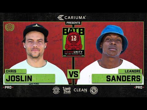 BATB 12: Chris Joslin Vs. Leandre Sanders - Round 1