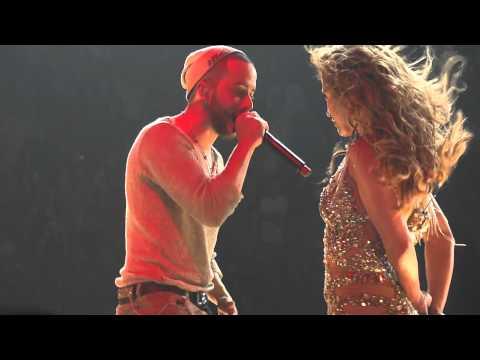 Jennifer Lopez - Follow The Leader feat Wisin at AAA Miami 31/08/12