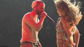 Gambar cover Jennifer Lopez - Follow The Leader feat Wisin at AAA Miami 31/08/12