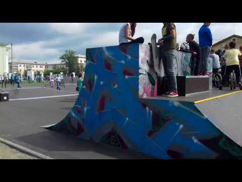 Южноуральск, новый скейт парк