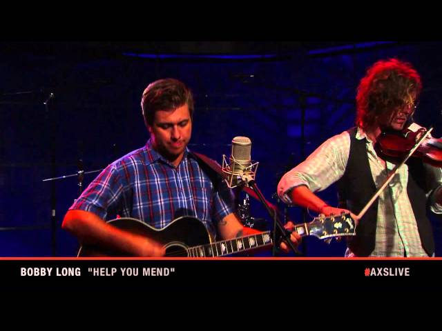 "Bobby Long Performs ""Help You Mend"" on AXS Live"