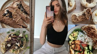 WHAT I EAT IN A WEEK- no restriction, eating intuitively healthy and realistic