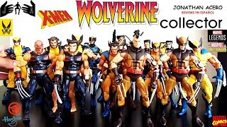 Marvel Legends Reviews en Español: Colección Wolverine