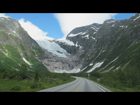 Norway: Rv. 5 Fjærland (Bøya Glacier)