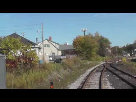 Maine Eastern Railroad - Ride From The Rear - Part 1