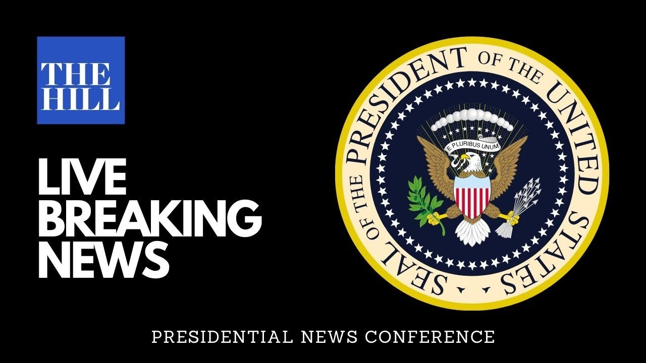 LIVE: President Donald Trump Holds A News Conference