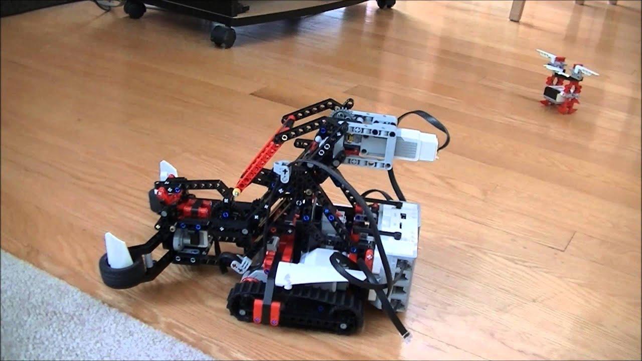 Lego mindstorm ev3 robot kit snatcher project youtube sciox Gallery