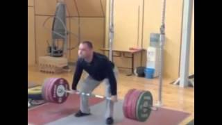Weightlifter Goes Crossfit - Thruster 190 kg Polovnikov