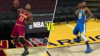 CAN KEVIN DURANT HIT A FULL COURT SHOT BEFORE LEBRON JAMES? NBA 2K17 GAMEPLAY!