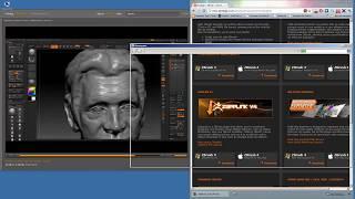 Знакомство с Zbrush | Урок 4: Инструмент Alpha(, 2014-06-15T16:08:37.000Z)