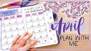 Plan With Me || April 2019 Bullet Journal Setup