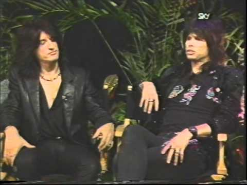 Aerosmith 1987 Interview (89 of 100+ Interview Series)