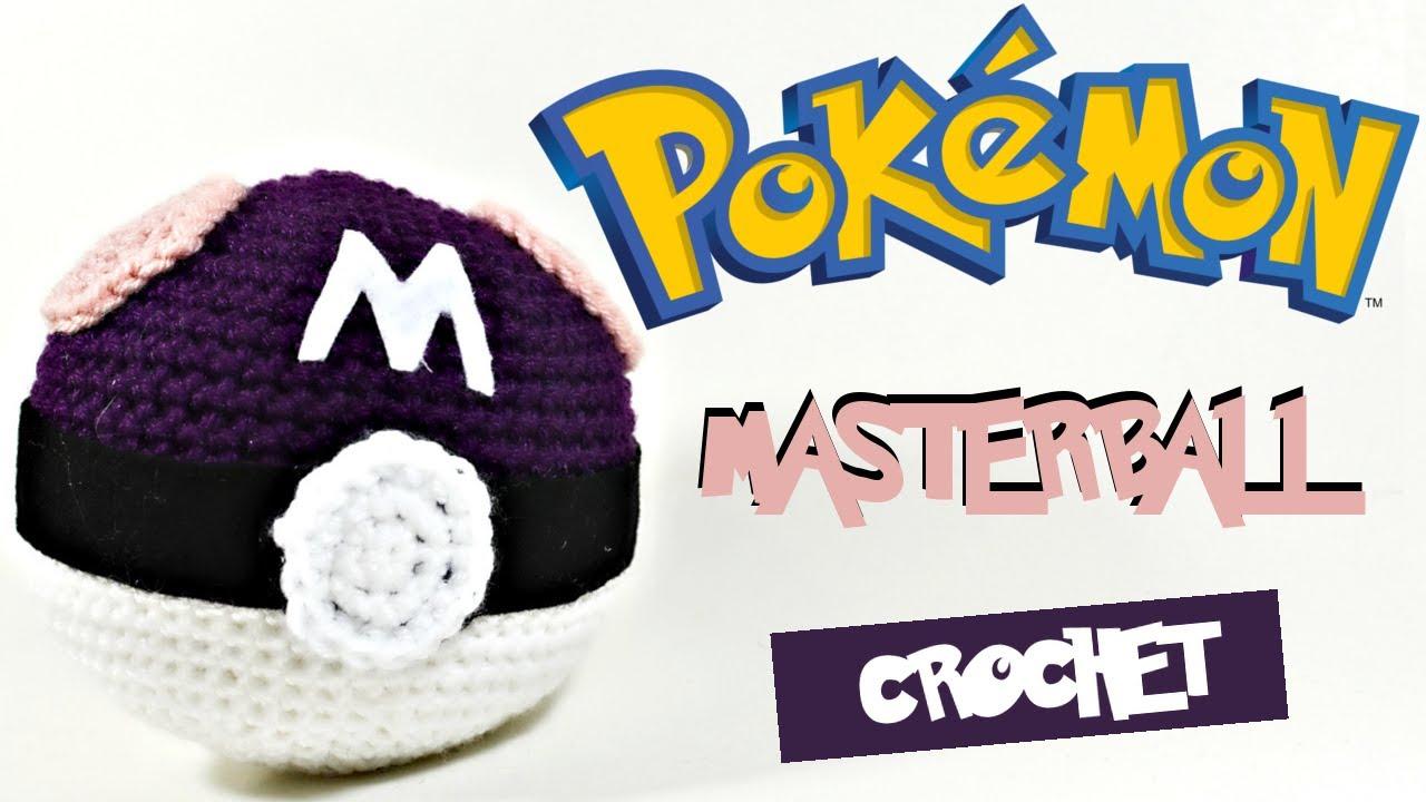 Amigurumi Crochet Masterball Pokéball Tutorial Free Pattern - YouTube
