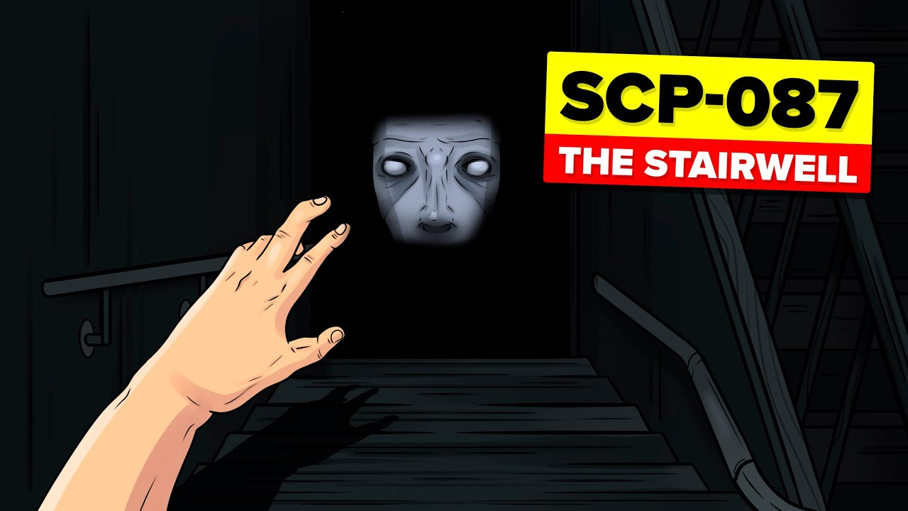 SCP-087 - The Stairwell (SCP Animation)