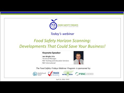 Food Safety Horizon Scanning: Developments That Could Save Your Business!