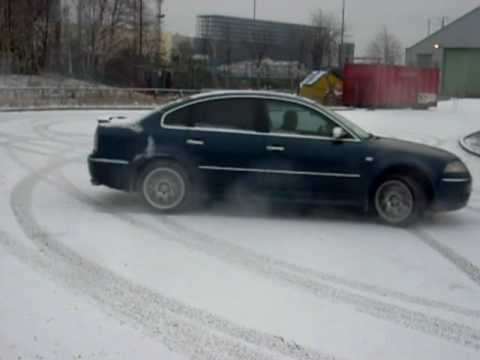Vw Passat W8 4motion Test With Faulty P Steering Pump