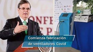 El ventilador fue creado por el Instituto Nacional de Nutrición y Ciencias Médicas, Salvador Zubirán. Iniciarán con la distribución en el país
