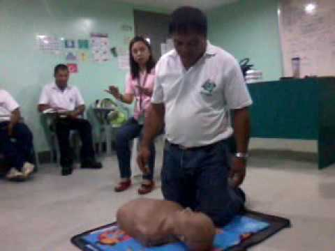 Cpr training @ global maritime