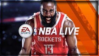 NBA Live #1 - Начало! Я прошёл обучение в баскетболе!?