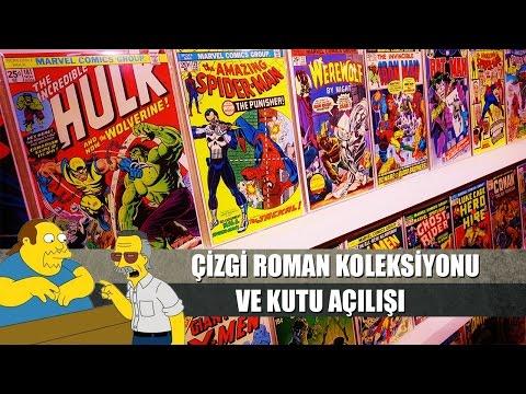 ÇİZGİ ROMAN KOLEKSİYONUM ve Kutu Açılışı!