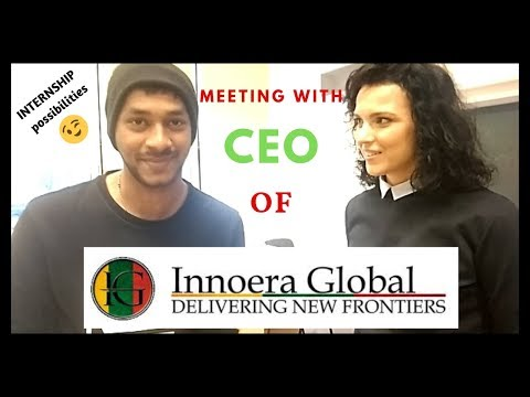 Interview with CEO of Innoera Global Group Lithuania | Vlog 1