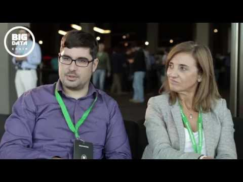 Interview of Amparo Alonso and David Martínez at Big Data Spain 2015
