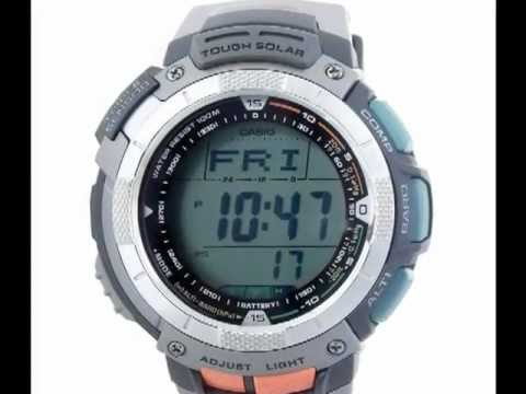 casio pag80 1v review youtube rh youtube com Casio Sport Pathfinder PAW-1100 Manual Casio Pathfinder Instruction Manual