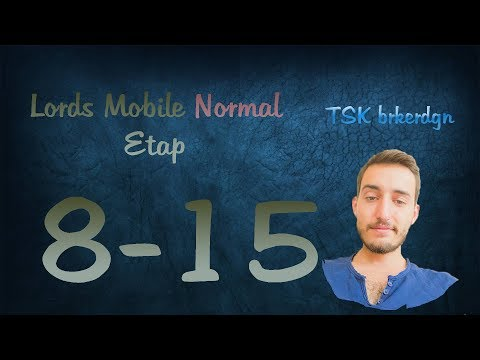 Lords Mobile Normal Etap 8-15